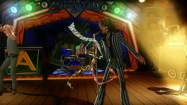 Guitar Hero Aerosmith Xbox 360 Trailer - Launch Trailer