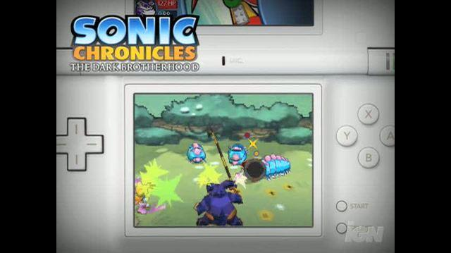 Sonic Chronicles The Dark Brotherhood Nintendo DS Trailer - Combat