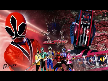 Decade & Shinkengers Wallpaper