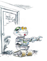 Muppet Institute of Technology robot