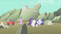 Rarity never jealous S1E19