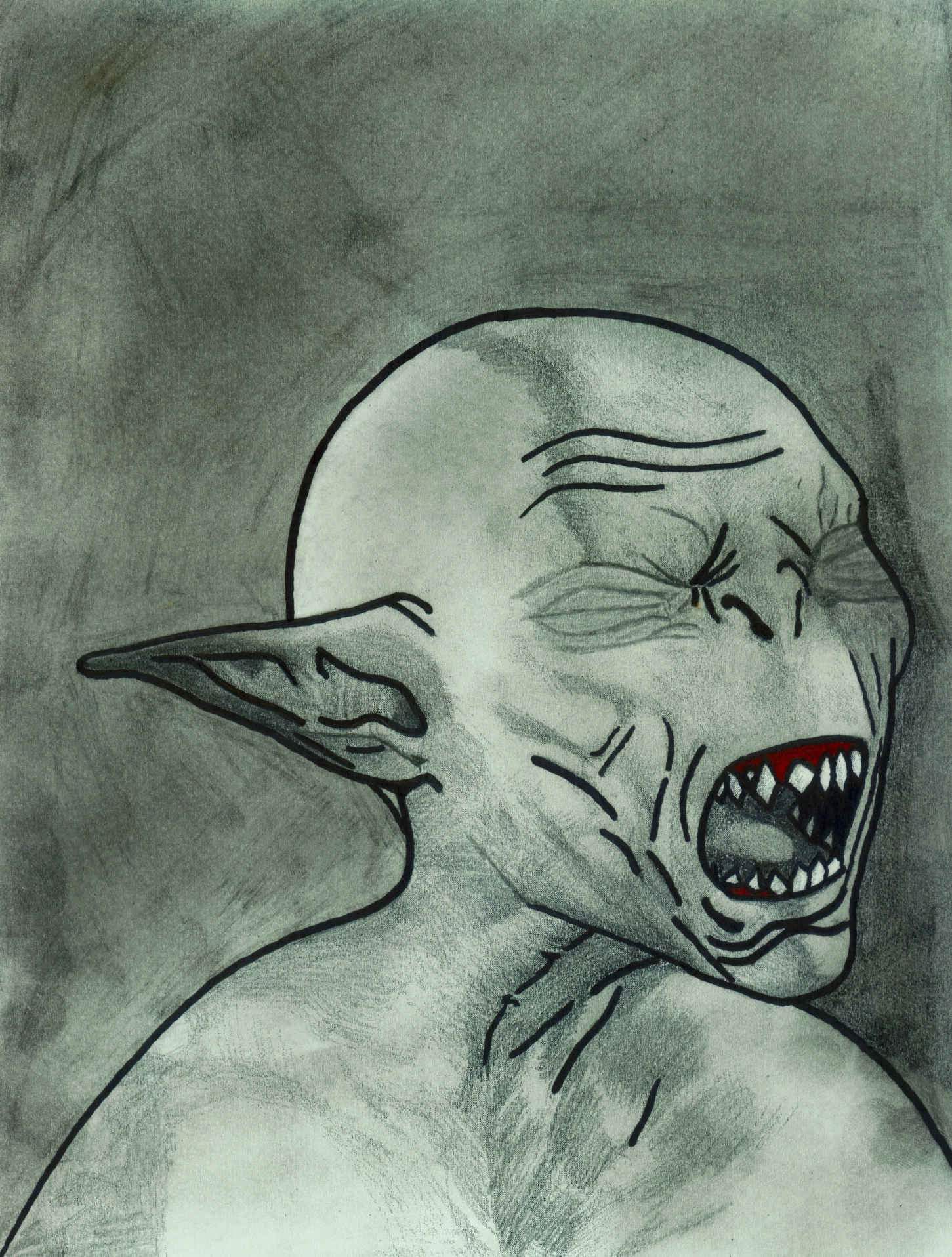 Skyrim beauty forced falmer monsters