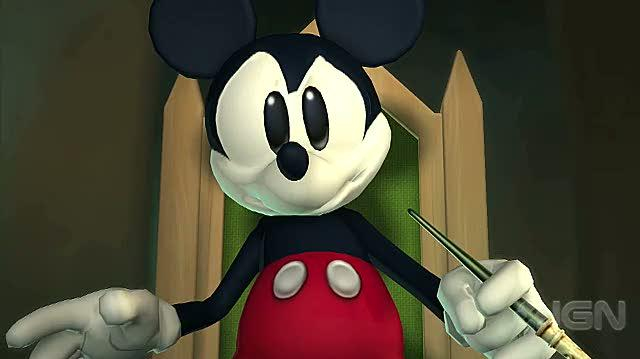 Epic Mickey Wii - Intro (Part 1)