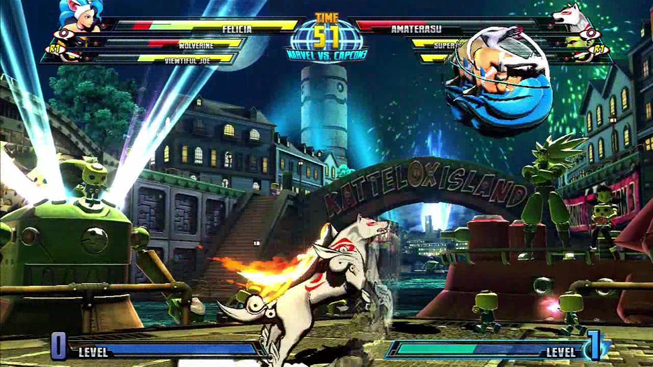 Marvel Vs. Capcom 3 Fate of Two Worlds - Felicia Shows How It's Done