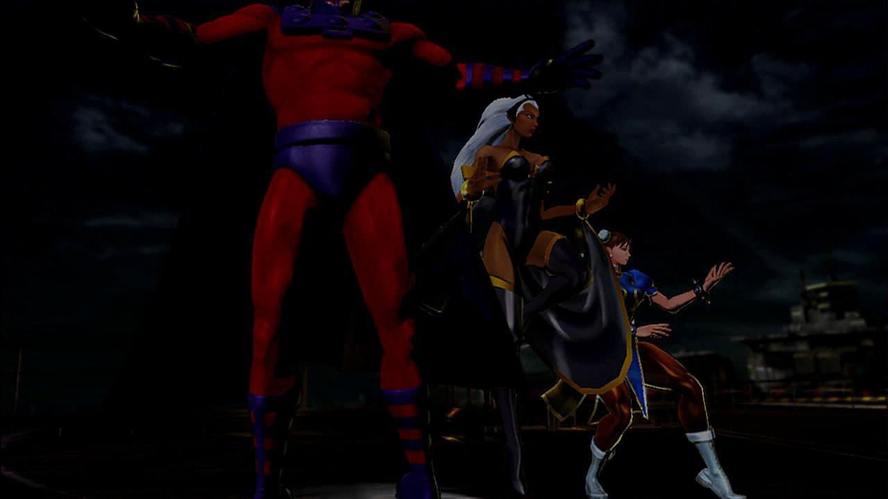 Marvel vs. Capcom 3 Storm Gameplay Footage