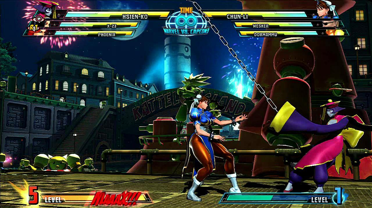 Marvel vs. Capcom 3 Hsien-Ko Gameplay