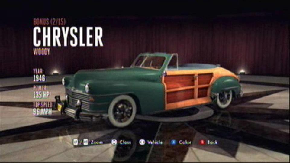 L.A. Noire Hidden Vehicles Bonus - Chrysler Woody