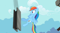 Rainbow Dash close one S2E8