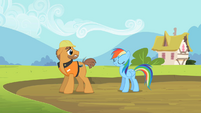 Rainbow Dash safe &amp; sound S2E8