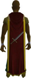 Attack cape (t) equipped