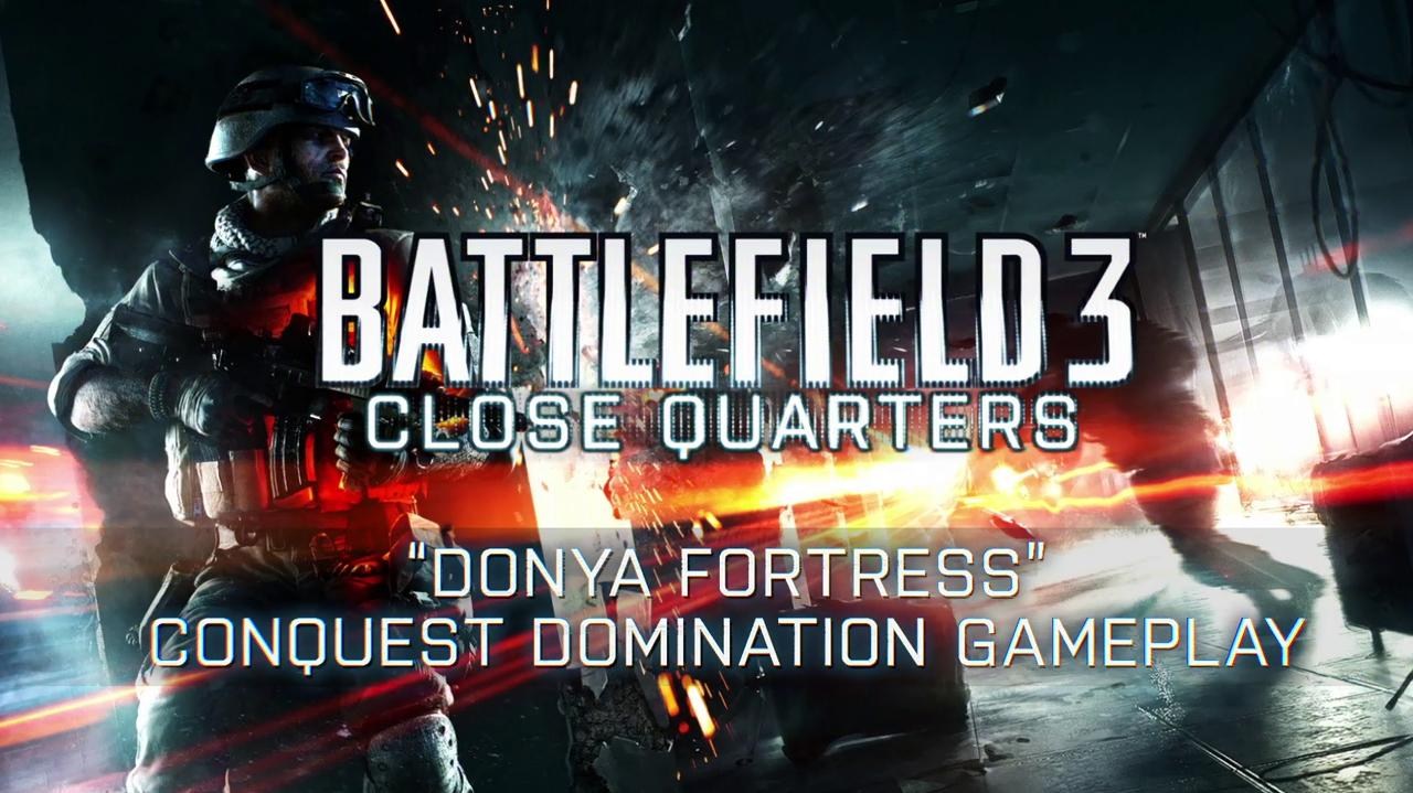 Battlefield 3 Close Quarters Donya Fortress