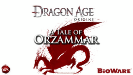 A Tale of Orzammar