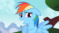 Rainbow Dash oh um yeah S2E8