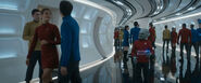 USS Enterprise (alternate reality) corridor