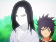 Orochimaru and Anko