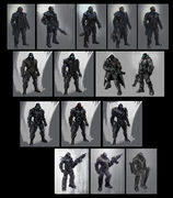 Blackwatch concept art process 1
