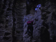 Picard and Jason Vigo climbing