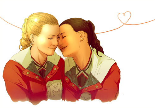 Brittana heart
