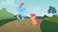 Rainbow Dash and Scootaloo S2E8