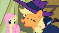 Applejack winking S2E08