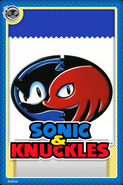 Sonic And Knuckles Card