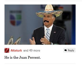 Juan Percent Romney