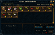 Wydin&#39;s Food Store stock