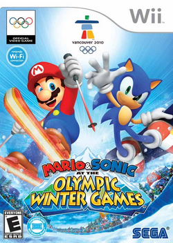 Mario & Sonic at the Olympic Winter Games (Wii) (NA)