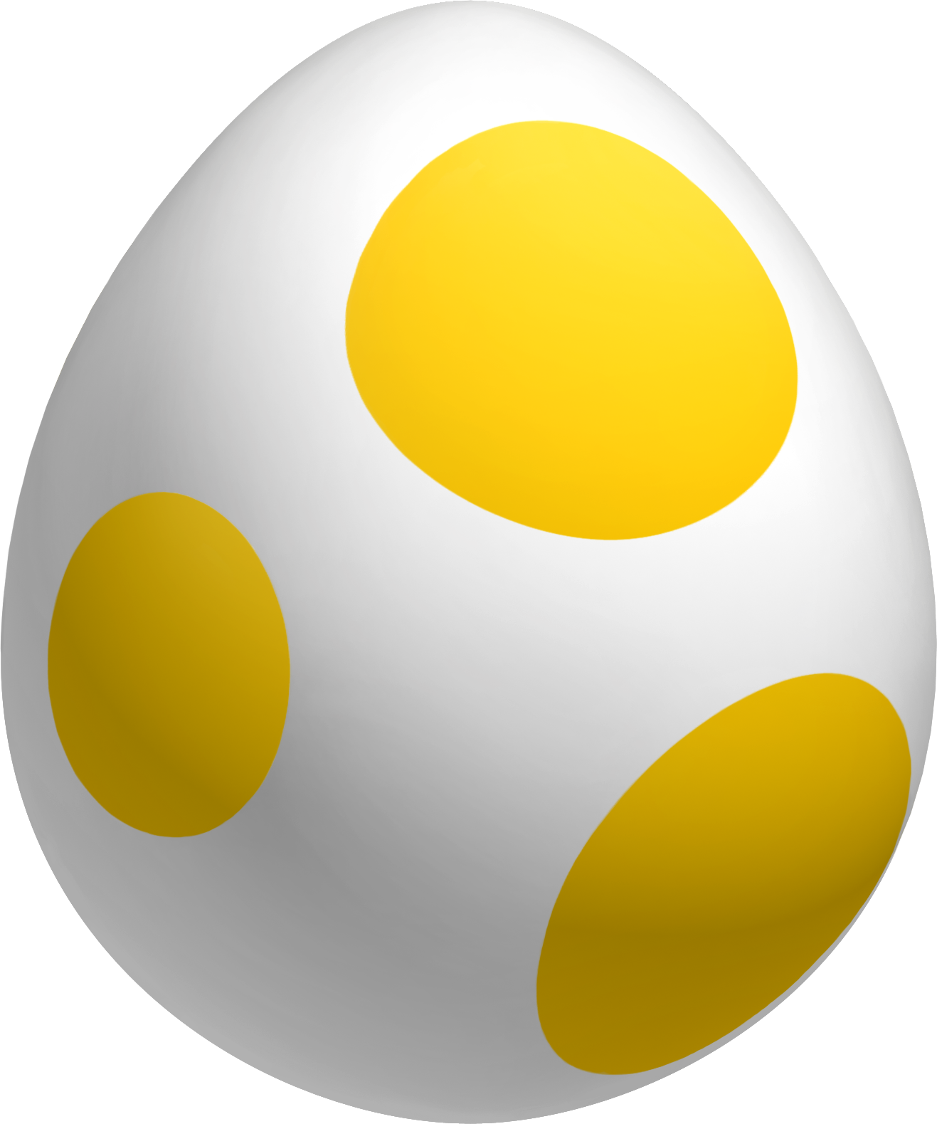 Yellow Yoshi Egg