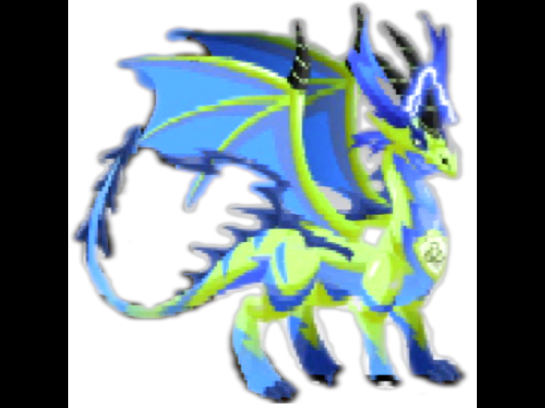 Dragon City Pure Electric Dragon