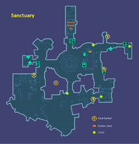 Sanctuary Map