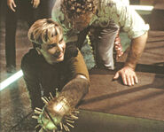 Denise Crosby and Glenn R. Wilder