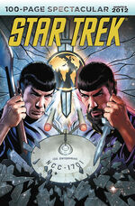 Star Trek 100-Page Spectacular Winter 2012 cover