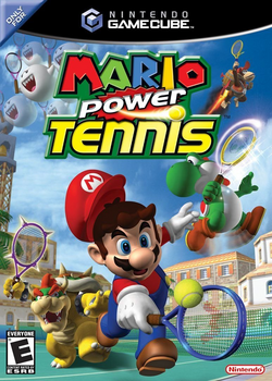 Mario Power Tennis (GC) (NA)