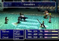 Ffvii demo Grenadiers