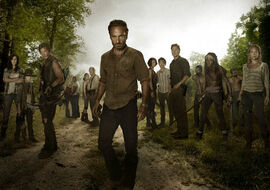 Walking Dead Cast S3