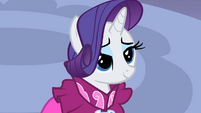 Rarity yeah this look S2E10