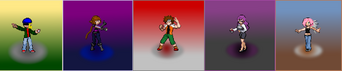 Pokemon custom leauge sprites