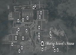 Marise Aravel's House Map