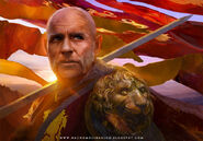 Tywin Lannister by Nacho Molina, Fantasy Flight Games