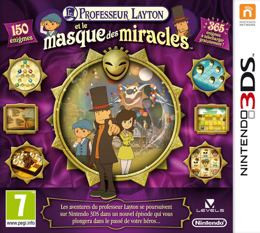 "[Spoilers] Discussion ""Professeur Layton et le Masque des Miracles 3DS"" - Page 2 535px-MM_French_Cover"