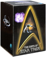 Legends In 3 Dimensions Ships of Star Trek box