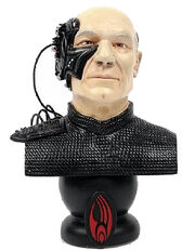 Legends In 3 Dimensions Locutus of Borg bust