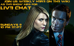 Homeland live-chat banner