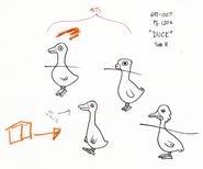 Modelsheet duck