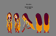 Modelsheet speciallightingevicted