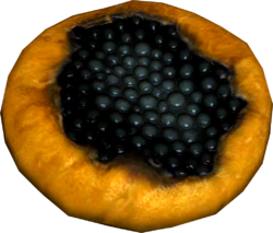 Juniper berry crostata
