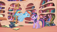 Rainbow Dash &#39;And how did you know about Nightmare Moon&#39; S1E02