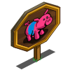 Pig Pen Sow Mastery Sign-icon