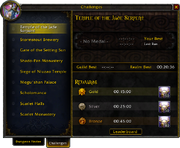 Dungeon Finder window Challenges tab 5 0 5 16057